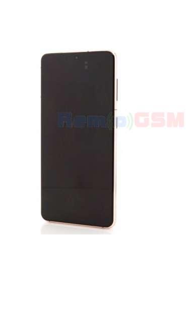 inlocuire display samsung s21 5g g991 phantom pink service pack oem