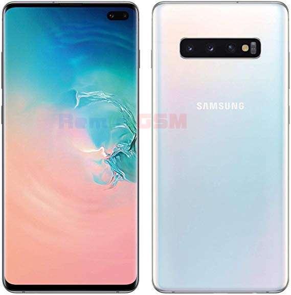 inlocuire display cu touchscreen si rama samsung sm-g973f galaxy s10 alb
