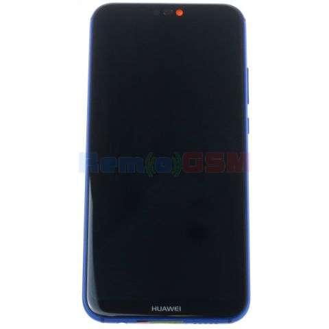inlocuire display cu touchscreen si rama huawei p20 lite ane-lx1 albastru