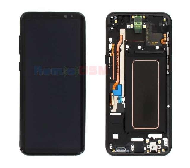 inlocuire display samsung sm-g955f galaxy s8 plus negru in system buy-back