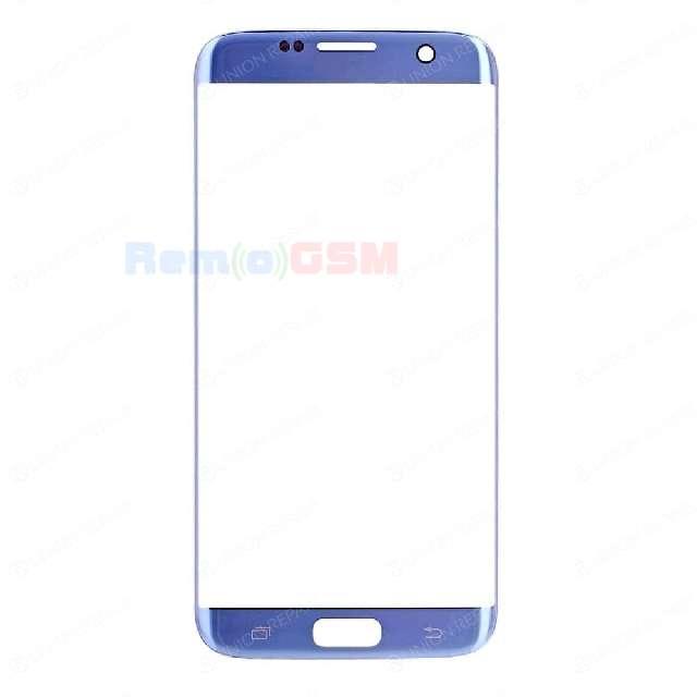 inlocuire geam sticla ecran display samsung s7 edge sm-g935f coral blue