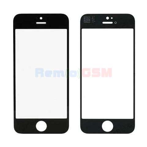 inlocuire geam sticla touchscreen display iphone 5 negru