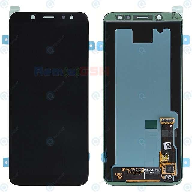inlocuire display cu touchscreen samsung galaxy a6 2018 a600 oem gh97-21897a