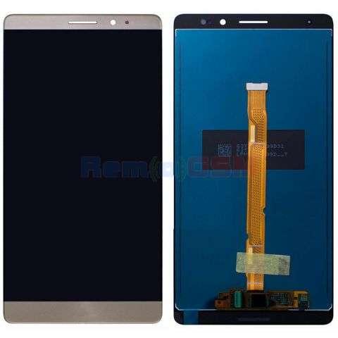 inlocuire display cu touchscreen huawei ascend mate 8 nxt-l29 alb