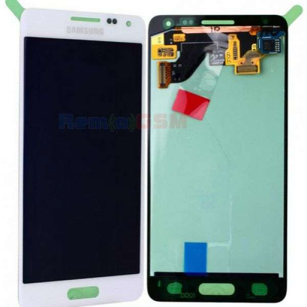inlocuire set display touchscreen samsung galaxy alpha sm-g850f alb oem gh97-16386d