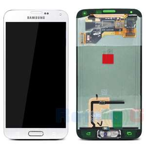inlocuire display set complet cu touchscreen samsung galaxy s5 oem g900 gh97-15959a