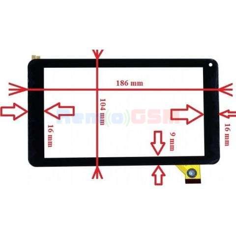 geam touchscreen serioux s716sm09sg suryas745s700s724 tab