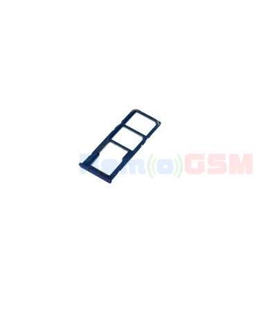 suport sim si card samsung a50 a505 a30 a305 albastru