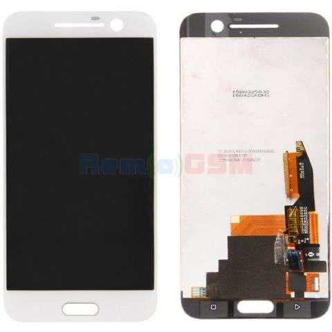 inlocuire display cu touchscreen htc 10 one m10 alb
