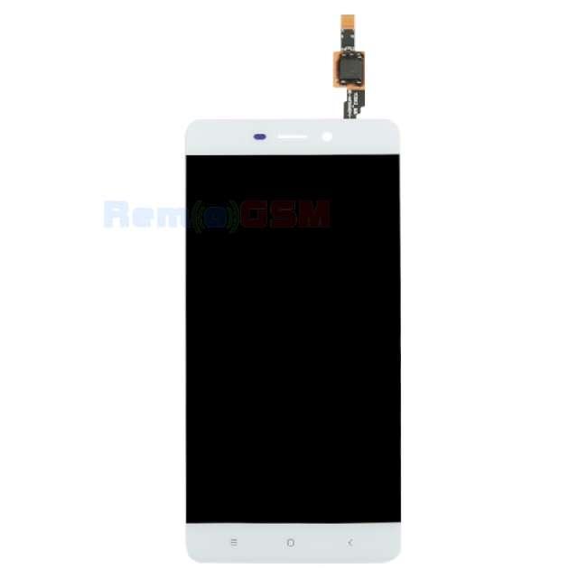 inlocuire display touchscreen xiaomi redmi 4 alb