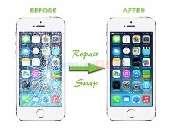 inlocuire schimbare sticla geam ecran iphone 6 plus alb