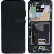 inlocuire display samsung galaxy s20 ultra g988f g988b cosmic black oem