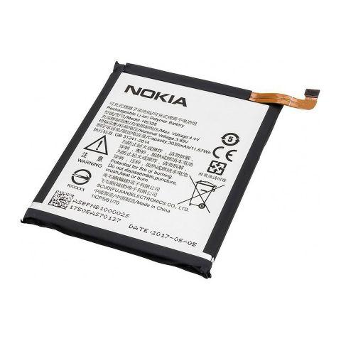 inlocuire baterie acumulator nokia 8 he328 original