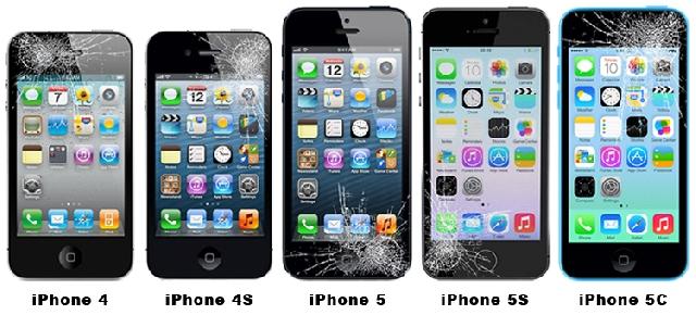 inlocuire schimbare geam sticla touchscreen iphone 5s se