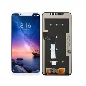 schimbare display cu touchscreen xiaomi redmi note 6 pro alb