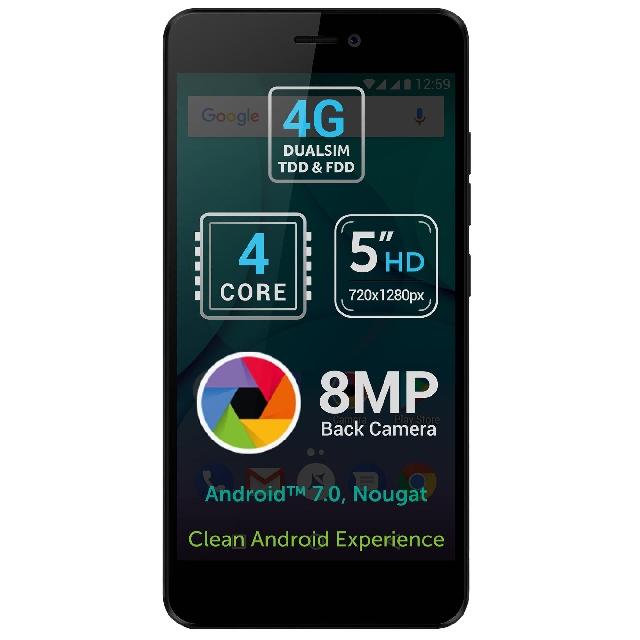 inlocuire display touchscreen cu rama fata allview p7 lite original