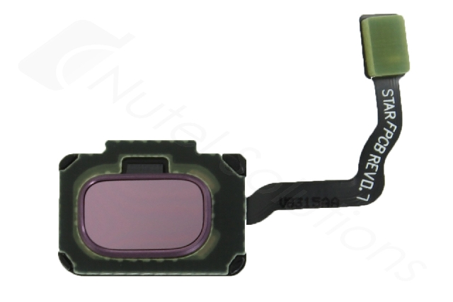 schimbare buton meniu home amprenta samsung s9 plus g965 purple original gh96-11479b