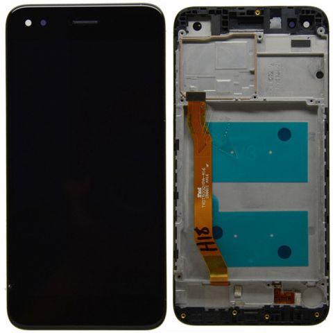 inlocuire display cu touchscreen si rama huawei p9 lite mini y6 pro 2017 original