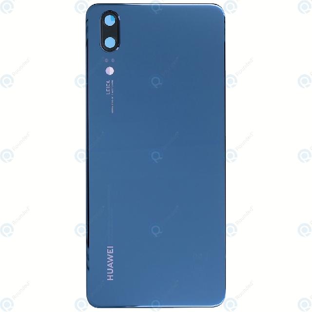 inlocuire capac baterie huawei p20 eml-l09 eml-l29 albastru original