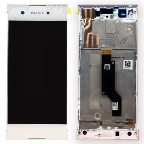 display touchscreen si rama sony xperia xa1 g3121 g3123 g3125dual g3112 g3116 alb