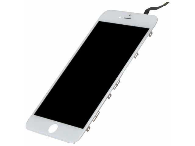 inlocuire display cu touchscreen si rama apple iphone 6s plus alb