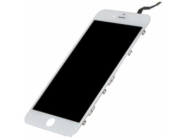inlocuire display cu touchscreen si rama apple iphone 6s plus alb original