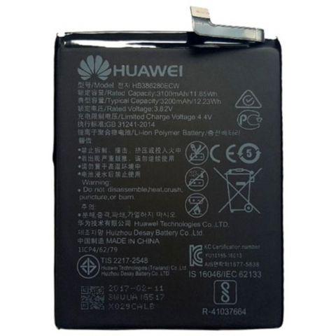 inlocuire acumulator huawei p10 hb386280ecw vtr-l09vtr-al00 vtr-tl00