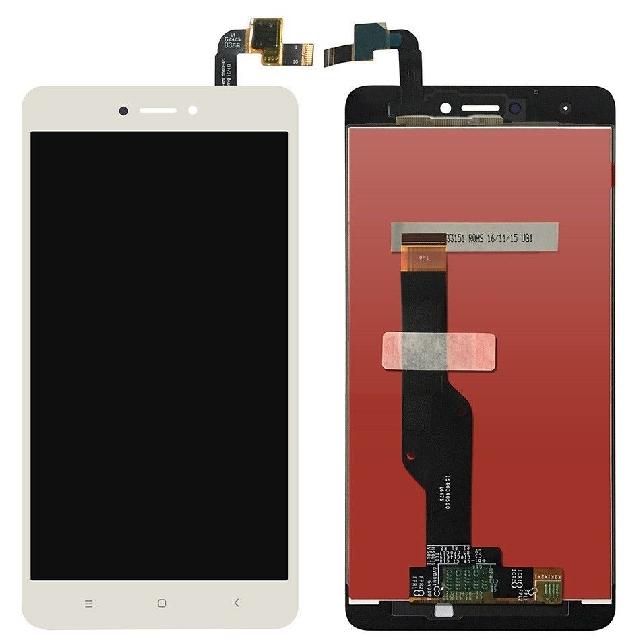 inlocuire set display touchscreen xiaomi redmi note 4x