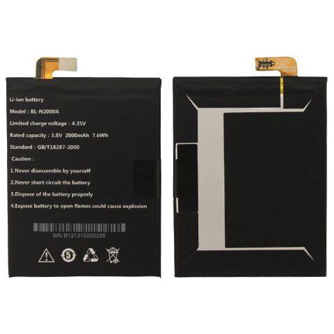 inlocuire baterie acumulator allview bl-n2000a x1 soul original