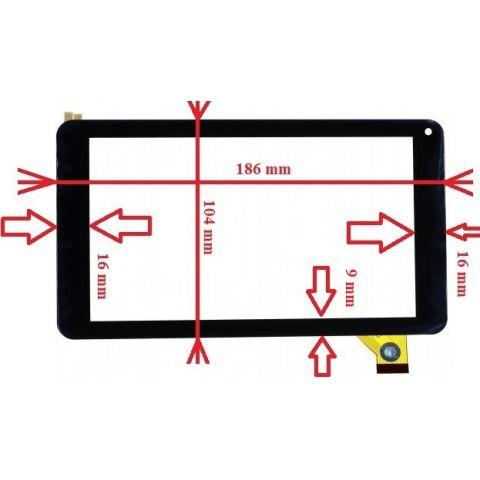 inlocuire geam touchscreen e-boda revo r76 essential a300330
