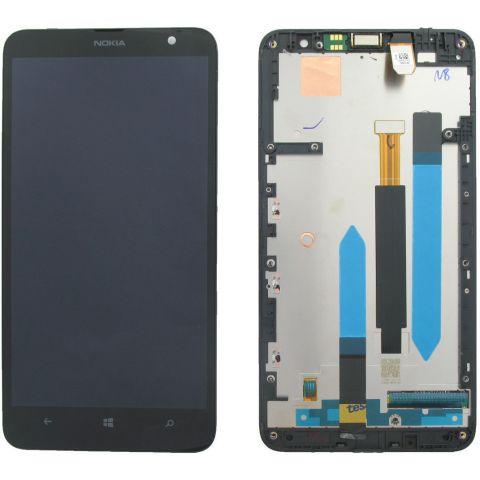inlocuire display cu touchscreen si rama nokia lumia 1320
