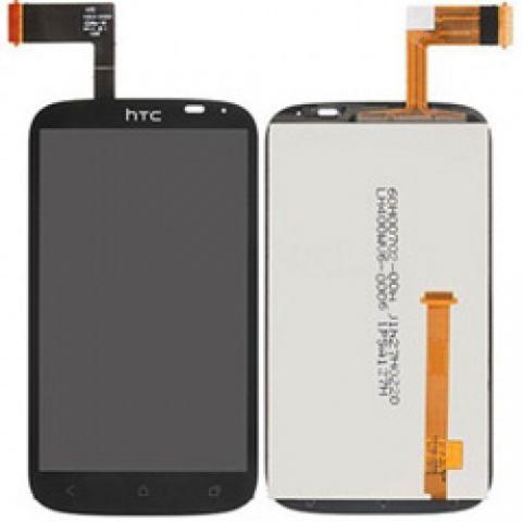 inlocuire display cu touchscreen htc desire x t328e proto