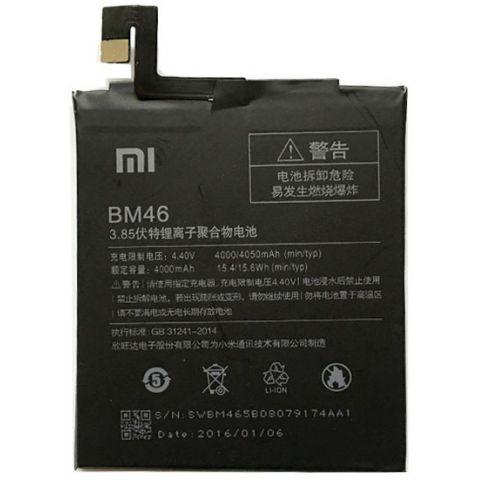inlocuire baterie acumulator xiaomi redmi note 3 bm46