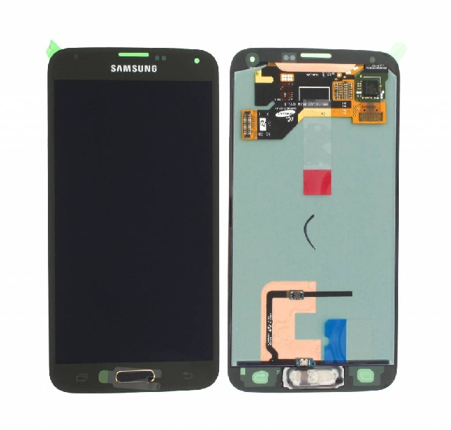 inlocuire display set complet cu touchscreen samsung galaxy s5 g900 gh97-15959d