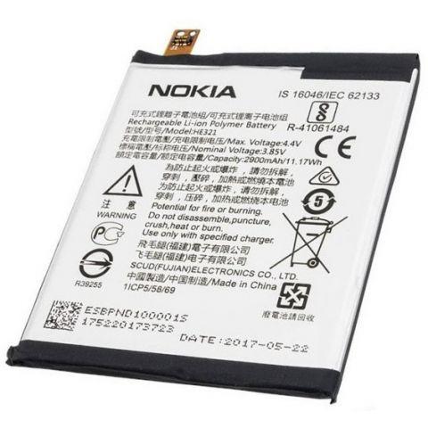 inlocuire baterie acumulator nokia 5 he321 original