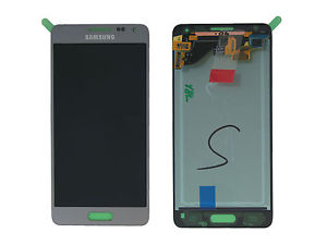 schimbare display cu touchscreen samsung galaxy alpha g850f silver gh97-16386e