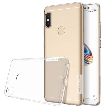 husa xiaomi redmi note 5 pro silicon transparent black