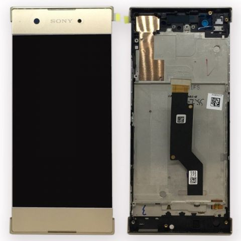 display touchscreen si rama sony xperia xa1 g3121 g3123 g3125dual g3112 g3116 gold
