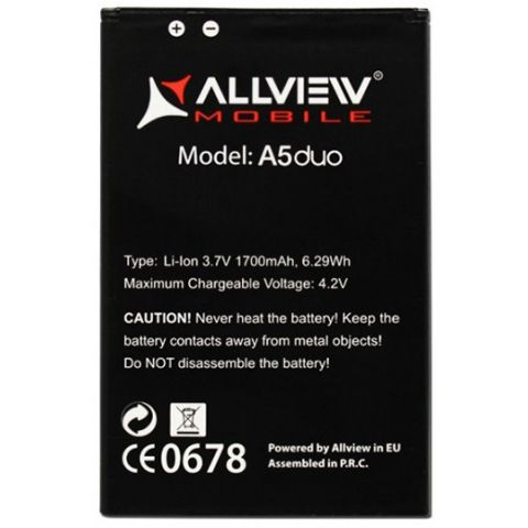 inlocuire acumulator baterie allview a5 duo original