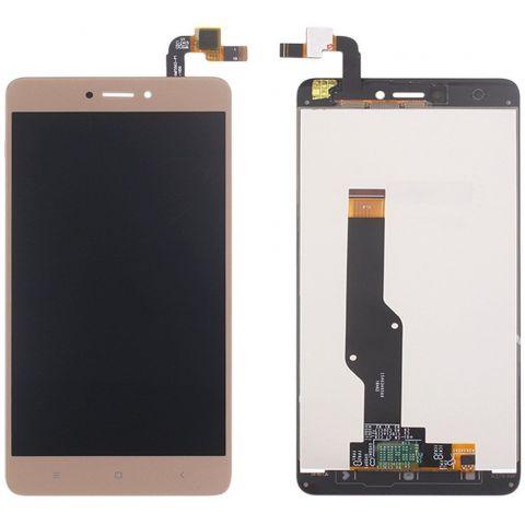 inlocuire display cu touchscreen xiaomi redmi note 4x auriu