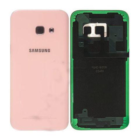 inlocuire capac baterie samsung sm-a320f galaxy a3 2017 pink rose gh82-13636d original