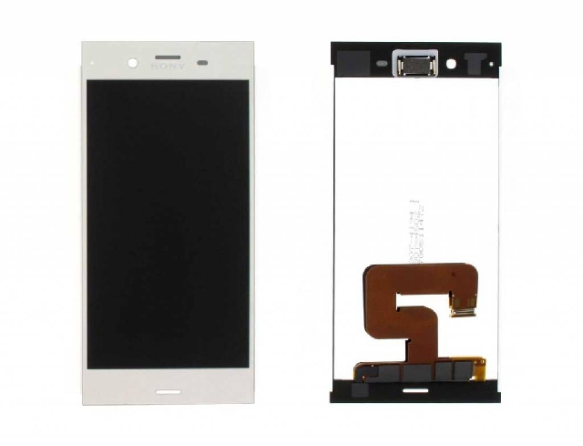 inlocuire display cu touchscreen sony xperia xz1 f8341 f8342 g8341 g8342 silver
