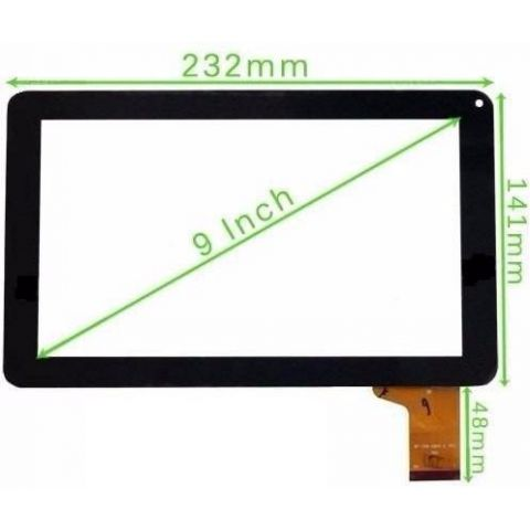 touchscreen tableta 9 rev mf-358-090f-6 hn 98v fpc v1 d26xs14