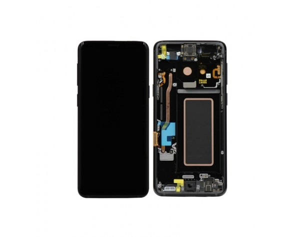 inlocuire display cu touchscreen si rama samsung sm-g960f galaxy s9 original