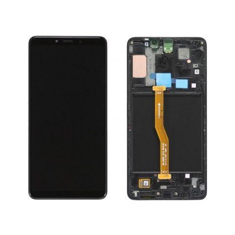 inlocuire display cu touchscreen si rama samsung sm-a920f galaxy a9 2018