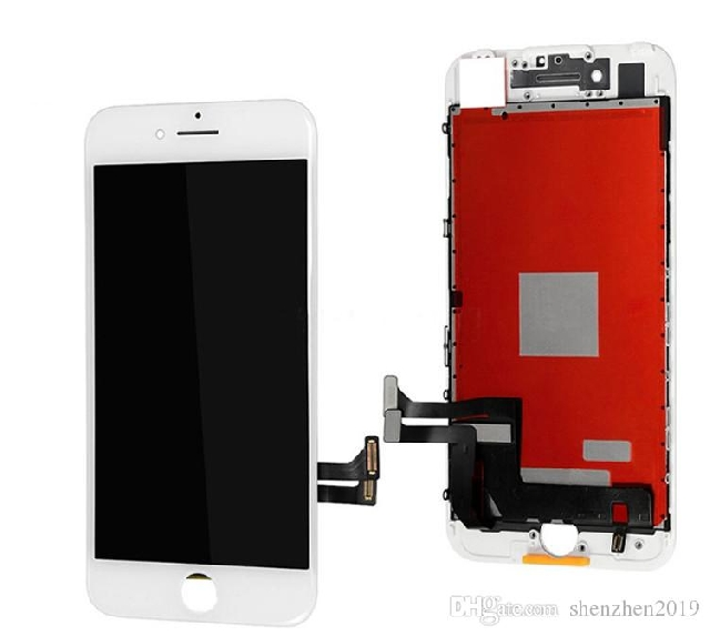 inlocuire display set complet iphone 7 plus alb