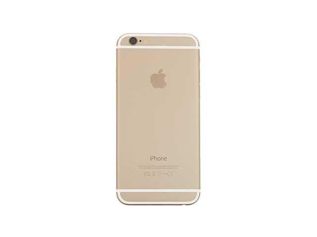 inlocuire carcasa capac baterie apple iphone 6 gold