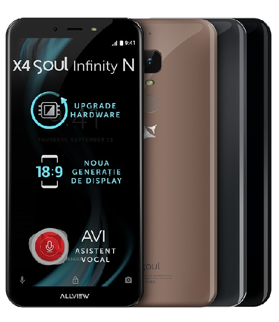 inlocuire display cu touchscreen allview x4 soul infinity n