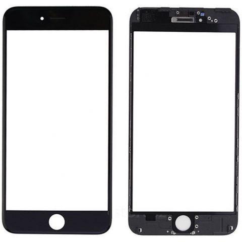 inlocuire geam sticla ecran display iphone 6s plus negru original