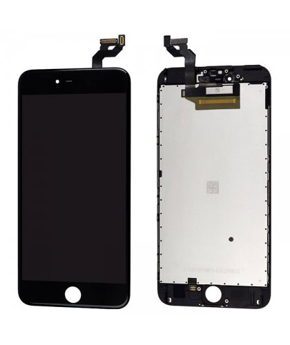 inlocuire display cu touchscreen si rama apple iphone 6s negru original